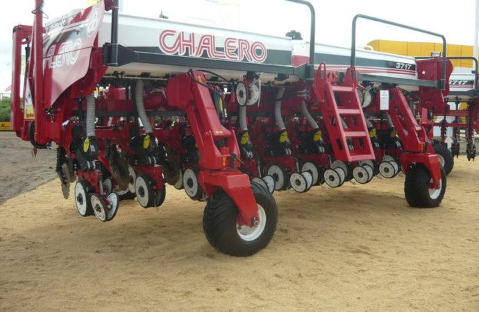 La sembradora Chalero CH 3717 incorporó la opción de mandos electroneumáticos