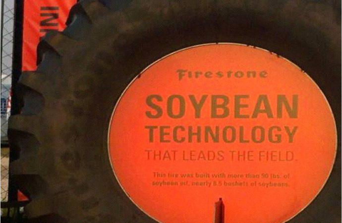 Bridgestone fabricará neumáticos con aceite de soja