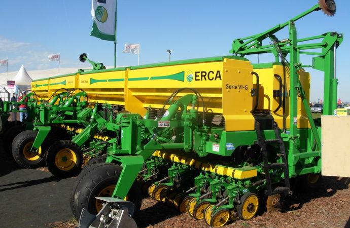 Nueva sembradora Erca Serie VI G-S a 35 cm