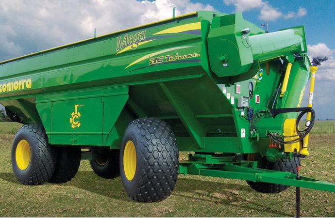 Comofra presentó la tolva gigante de 35 toneladas