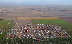 Vista aérea AgroActiva Cañada de Gómez