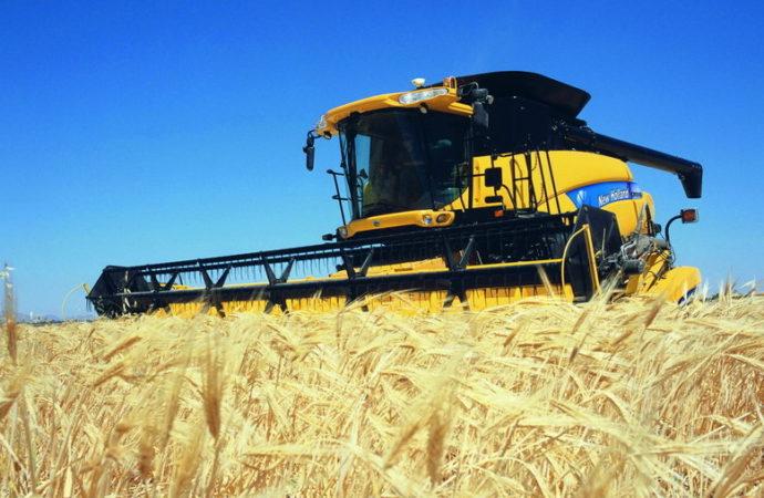 La importación de cosechadoras cayó 60%
