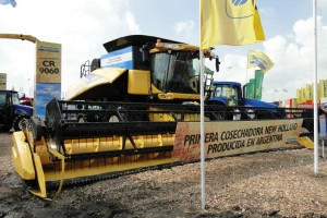Cosechadora New Holland CR9060