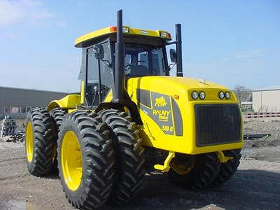 Pauny proyecta fabricar 2.500 tractores en 2014