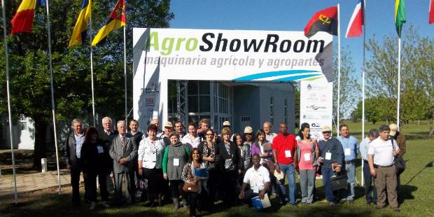 AgroShowRoom: 25 empresas, 50 equipos y visita de seis países