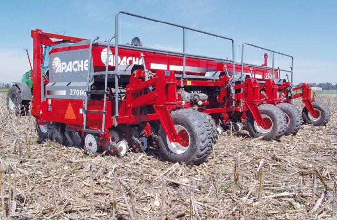 Don Mario volvió elegir la sembradora 27000