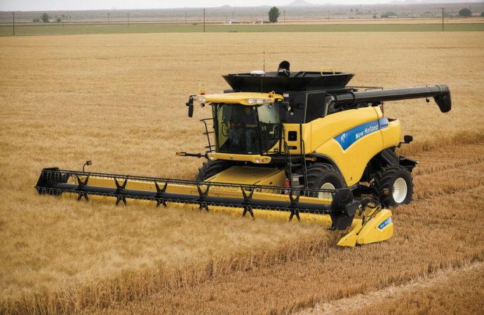 La New Holland CR9060 nacional llega a PyMe Agroindustrial en Las Parejas