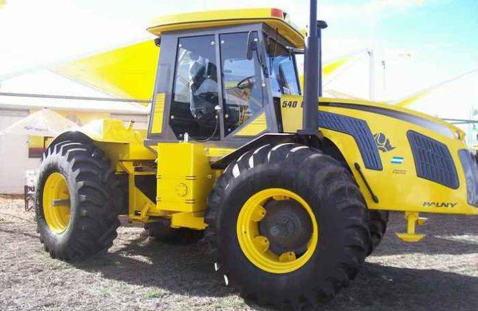 Pauny alcanzó fabricación récord: 159 tractores por mes