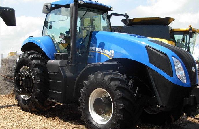 New Holland presentó la línea T8 de tractores de Alta Gama