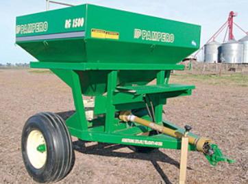 Nuevas fertilizadoras de Pampero