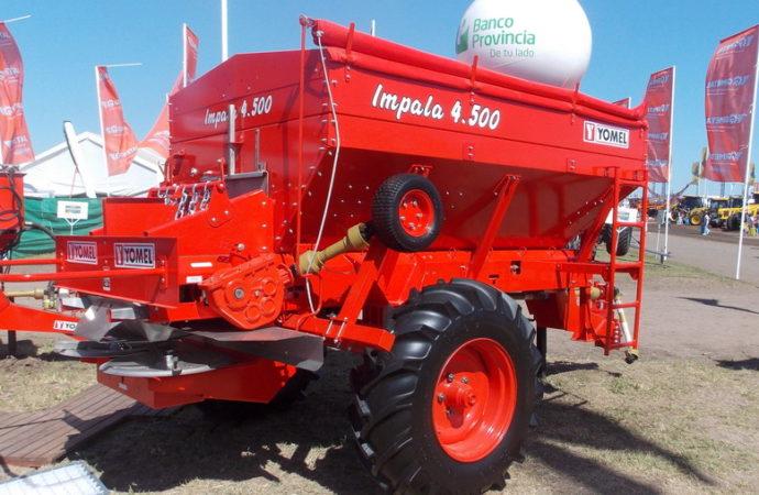 Yomel amplió la línea de fertilizadoras Impala