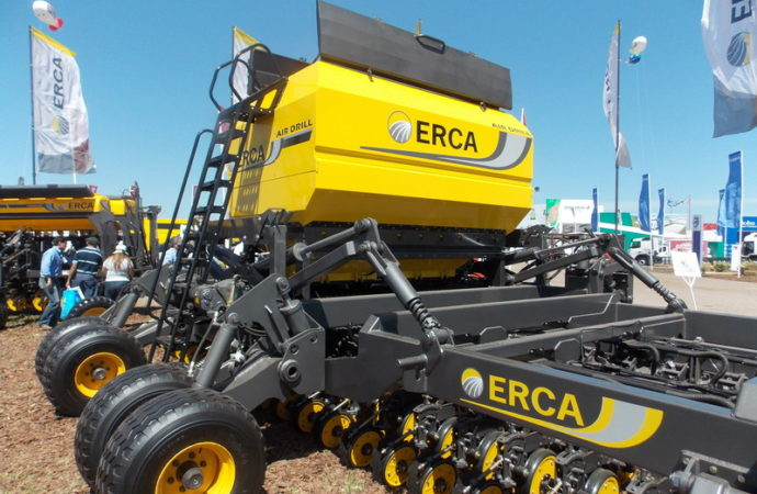 Erca presentó una sembradora Air Drill