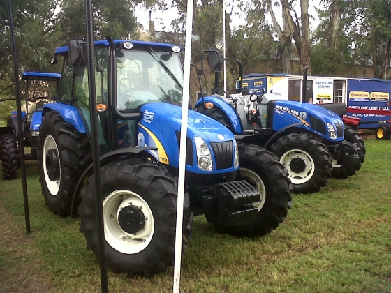 Destacada participación de New Holland en evento forrajero