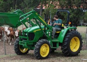 Tractor John Deere 5725 PowrReverser