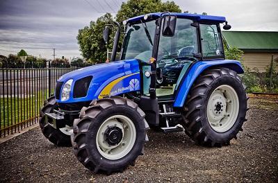 New Holland muestra sus tractores en Santiago del Estero