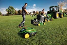 John Deere: Medio siglo fabricando maquinaria para áreas verdes