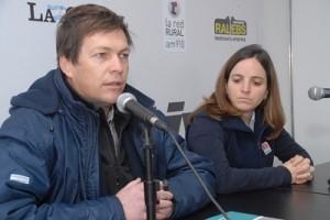 Ricardo Bartosik y Bernadette Abadía