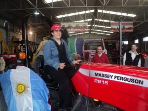 Tractor MF 2615 sorteado por AGCO en AgroActiva 2013