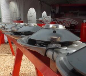 Barra de discos segadores Oripon