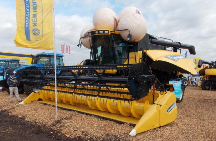 New Holland completó la familia CR con la axial CR5080