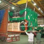 Sembradora Pierobón exportada a Sudáfrica