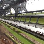 Plataforma draper Piersanti adaptada de Claas F1200