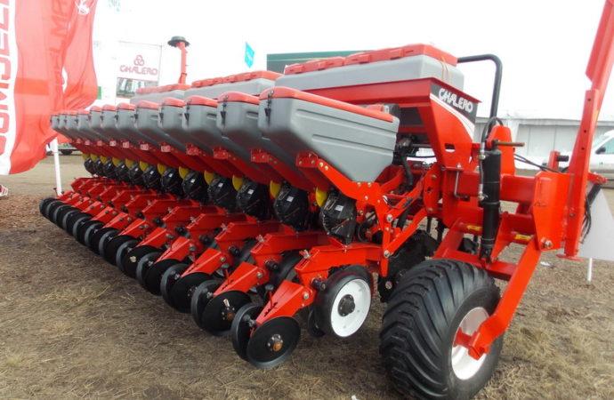 Chalero desarrolló sembradoras pensando en nuevos mercados