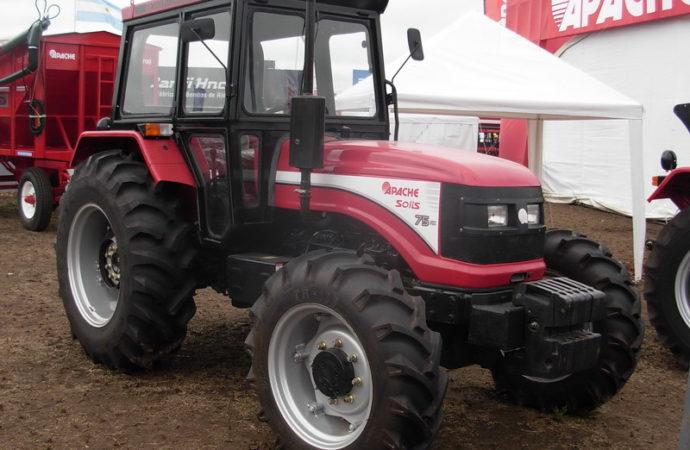 Apache promociona sus tractores con tasas del 6,5% anual