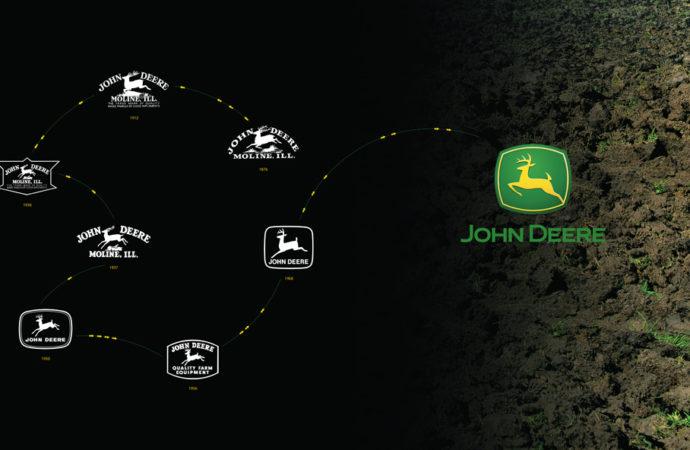 John Deere tiene el logo más antiguo de la lista Fortune 500