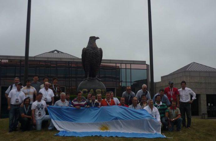 Empresas argentinas se mostraron en el Farm Progress Show