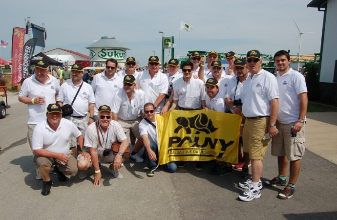 Pauny, presente en el Farm Progress Show