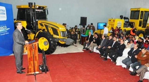 Pauny inauguró una planta ensambladora en Chaco