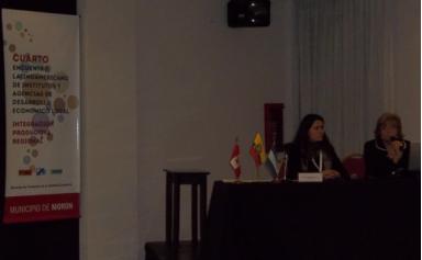 CIDETER en el 4º Encuentro de Institutos y Agencias de Desarrollo Económico Local
