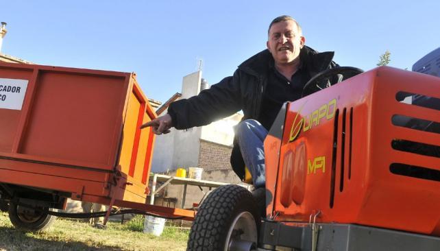 """El """"Guapo"""", el tractor hidráulico más pequeño"""