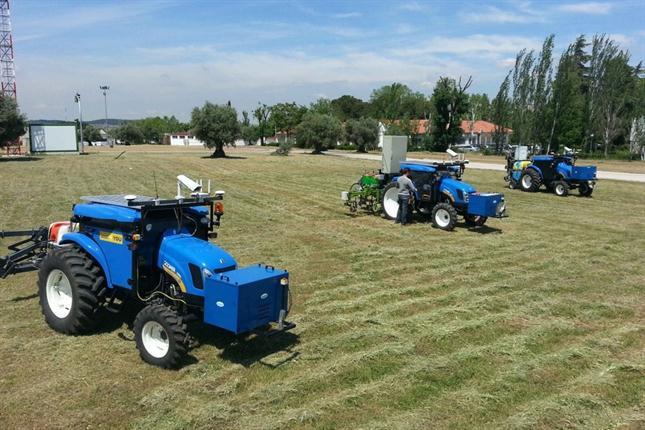 En Europa ya usan tractores robots