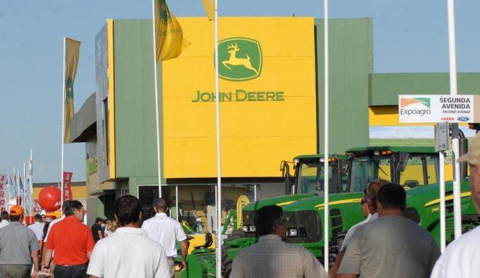 John Deere, tractor oficial de Expoagro 2014