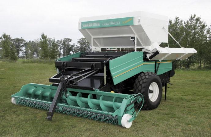 Agroindustrial se lanzó a la cosecha de maní