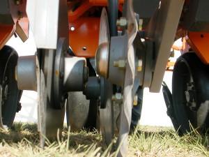 Sembradora Agrometal TX Mega  Cuchilla Turbo