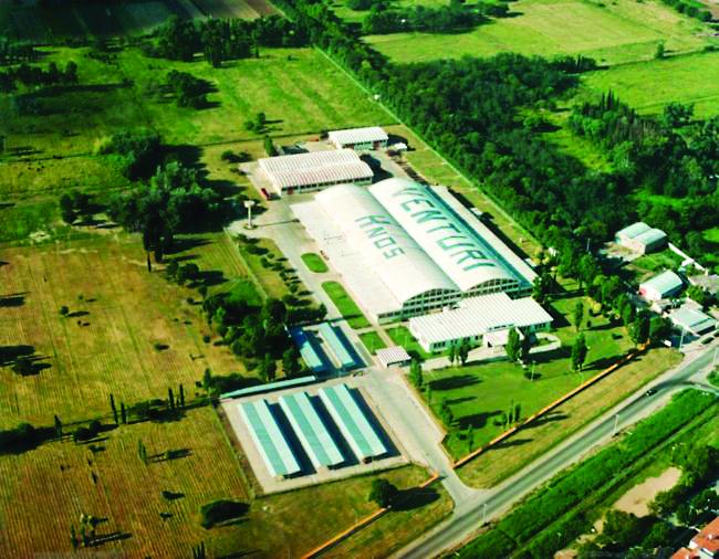 Venturi planta industrial