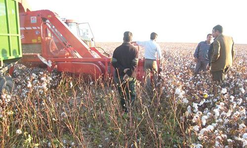 Dolbi llegó a Irán con la cosechadora Javiyú