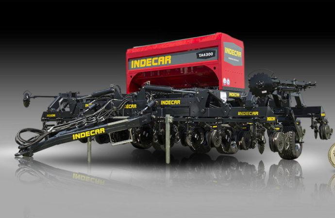 Indecar presentó la nueva sembradora Air Drill TA4300