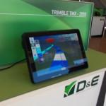 pantalla integral D&E Trimble TMX-2050
