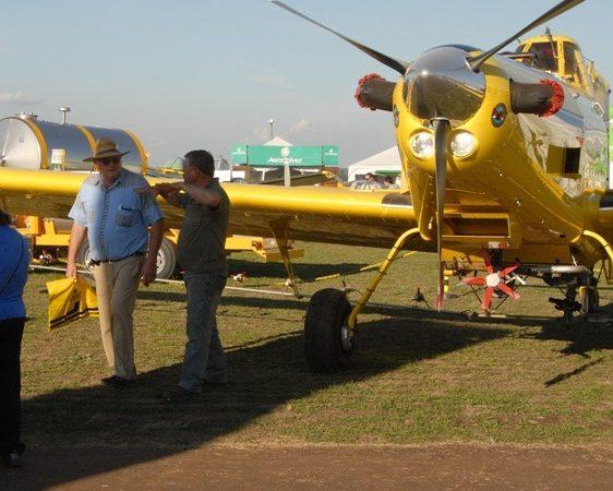 Presentarán nuevos aviones y equipamiento en AgroActiva
