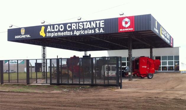 Nuevo local de Aldo Cristante Implementos Agrícolas