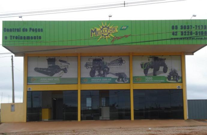 Metalfor inauguró Central de Repuestos y Entrenamientos en Mato Grosso