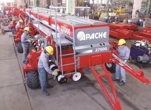 Planta interior Apache