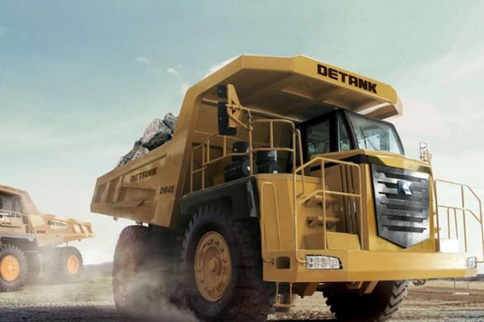 Camion vial Detank