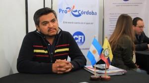 Ronda de negocios Agropartes en Marcos Juarez -Operador ecuatoriano