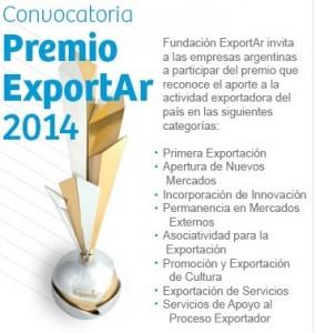 Premio ExportAR 2014