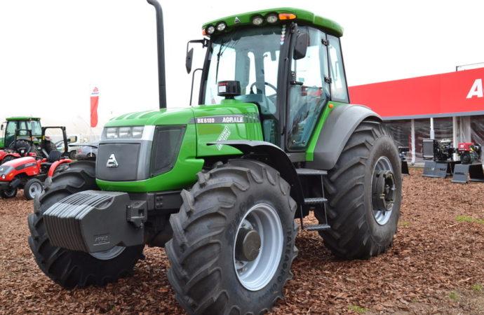 Agrale mostró en Salta los tractores producidos en el país